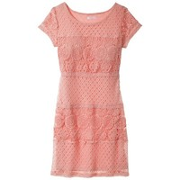 Xhilaration® Junior's Lace Detail Shift Dress - Assorted Colors