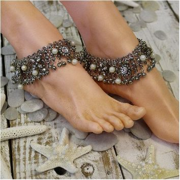 GYPSY BRIDE ankle bracelet - antique