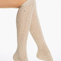 Ralph Lauren Open Cable Knee Highs | Nordstrom