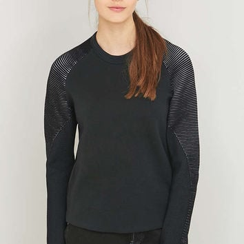 Nike Tech Black Crew Neck Sweatshirt - Urban Outfitters