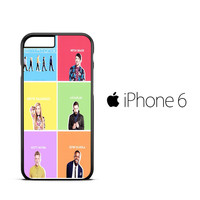 pentatonix 2015 X0506 iPhone 6 Case
