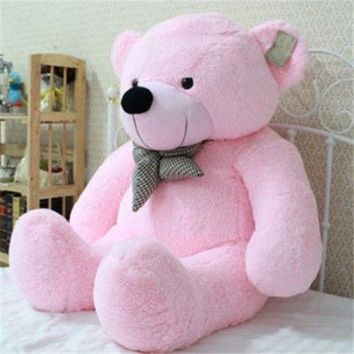 "39"" Stuffed Giant 100CM Big Pink Plush Teddy Bear"