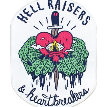 Hellraisers & Heartbreakers Large Back Patch
