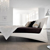 Designer Trickery: Faux Floating Bed or Funky Fake Image | Designs & Ideas on Dornob