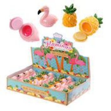 Flamingo and Pineapple Lip Balm