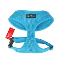 Soft Collar Harness — Sky Blue