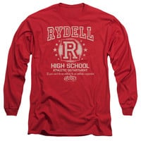 GREASE/RYDELL HIGH - L/S ADULT 18/1 - RED -