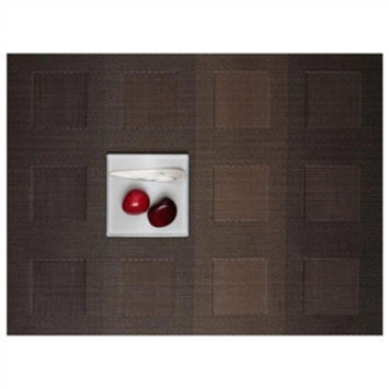 Chilewich Engineered Squares Placemats | Garnet