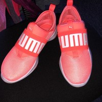 Peach Puma Sneakers($ 35) - Mercari: BUY & SELL THINGS YOU LOVE