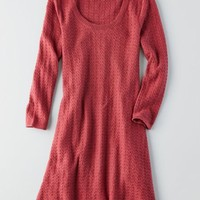 AEO Women's Stitched Sweater Dress