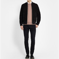 Acne Studios - Thin Dawn Coated-Denim Jeans | MR PORTER