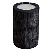 Medium Burnt Palm Wood Candle - Vanilla Palm Wax from Vascolari