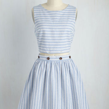 Infinite to Win It Dress in Blue | Mod Retro Vintage Dresses | ModCloth.com