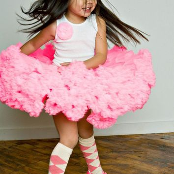 Candy Pink Sweetheart Pettiskirts by Dreamspun by DreamSpunKids
