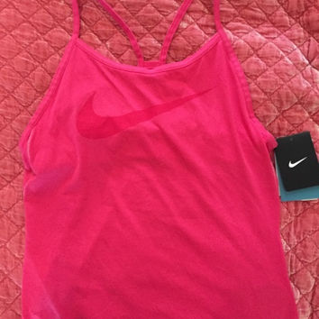 Nike Dri Fit Racerback Workout Top