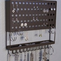 Wall Mount Jewelry Organizer