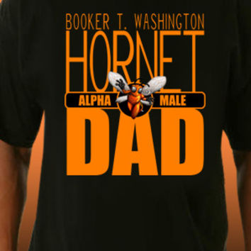 Booker T. Washington Hornet Dad T-Shirt