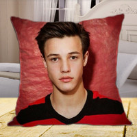 Cameron Famous Dallas  Boys on Square Pillow Cover
