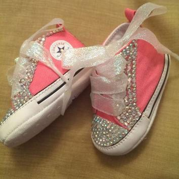 CREYUG7 Bling Baby Converse by RadianceDesigns on Etsy
