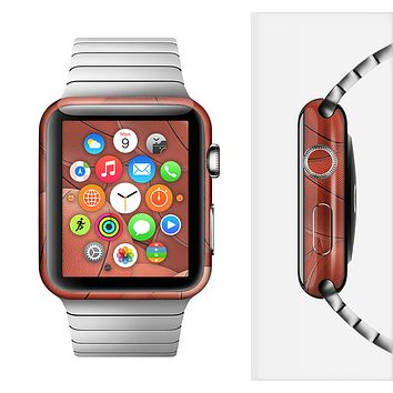 The Basketball Overlay Full-Body Skin Set for the Apple Watch
