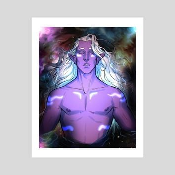 The Mark of the Chosen, an art print by Viera Boudreau