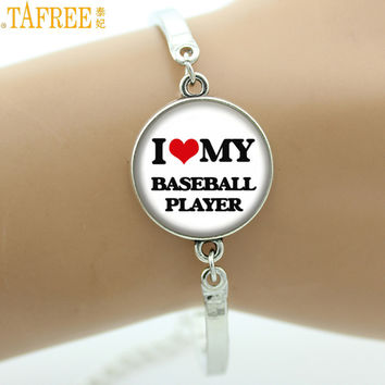 I Love My Baseball Player bracelet jewelry Many Different Styles Positions