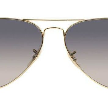 LMF8UH Ray Ban - Aviator Large Metal Gold - Blue