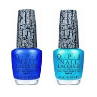 Amazon.com: OPI Blue Shatter and Turquoise Shatter Combo Set: Health & Personal Care