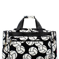 "23"" Volleyball Print Duffel"