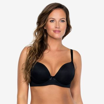 Parfait Casey Plunge Molded Bra in Black