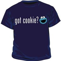 Sesame Street Cookie Monster Got Cookie? Navy Toddler T-Shirt