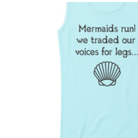Mermaid Running Tank Top