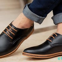 New 2017 Men Leather Shoes