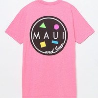 Maui and Sons Neon Cookie Logo T-Shirt at PacSun.com