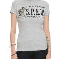 Harry Potter S.P.E.W. Girls T-Shirt 2XL
