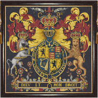 Stuart Crest Tapestry Wall Art Hanging