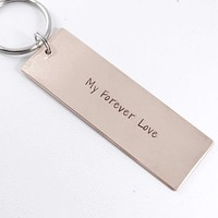 """""""My Forever Love"""" Copper Keychain - DISCOUNTED and READY TO SHIP"""