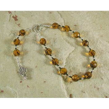 Ops Pocket Prayer Beads: Roman Goddess of Fertility and Abundance, Earth Mother