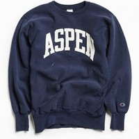 Vintage Champion Aspen Crew Neck Sweatshirt - Urban Outfitters