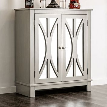 Furniture of america CM-AC501 Tayla collection contemporary style gray finish wood hall console table