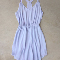 Sparkling Lavender Party Dress