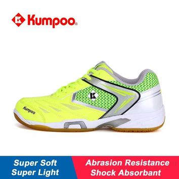 Kumpoo Sports Shoes Badminton for Men Women Light And Soft Shock Absorption Non-slip New Pattern Training Sneakers KH56 L800OLC