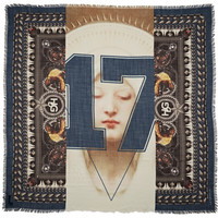 Givenchy Madonna printed wool scarf – 55% at THE OUTNET.COM