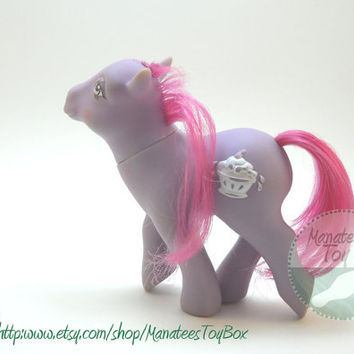 My Little Pony Sherbet: Vintage 1980s Toy Custom Bait