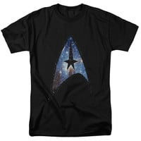 Star Trek Galactic Shield Adult T-Shirt