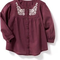 Embroidered Blouse for Baby | Old Navy