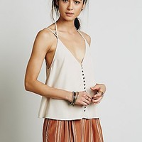 Free People Womens Shimmy Shaker Tank
