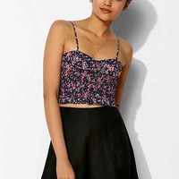 Pins And Needles Smocked Bustier Top-