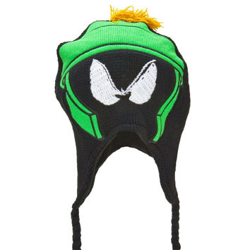 Looney Tunes - Marvin The Martian Big Face Peruvian Knit Hat
