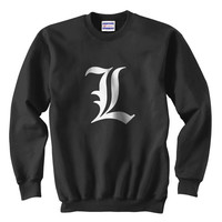 L Death Note Ryuk Light Shinigami Unisex Sweatshirt S-3XL